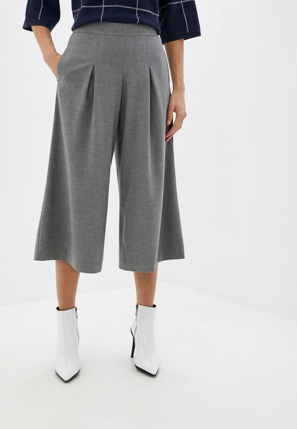 женские брюки кюлоты vittoria vicci, серые