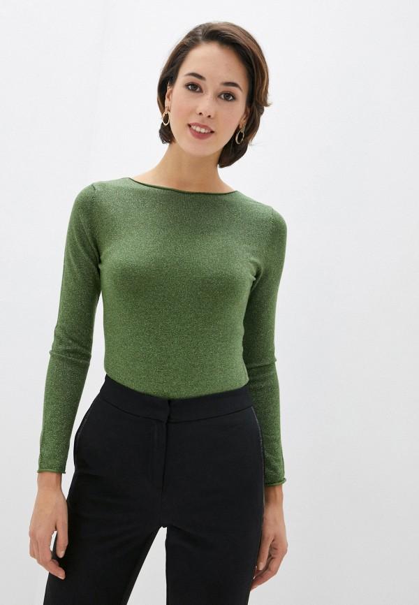 женский джемпер vittoria vicci, зеленый