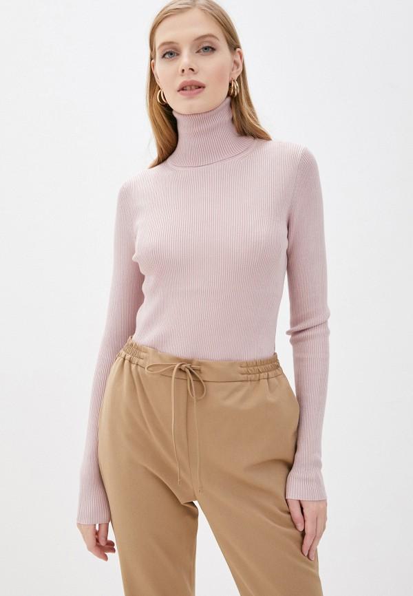 женская водолазка vittoria vicci, розовая