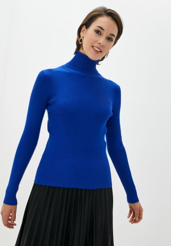 женская водолазка vittoria vicci, синяя