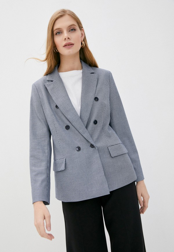 женский пиджак vittoria vicci, синий