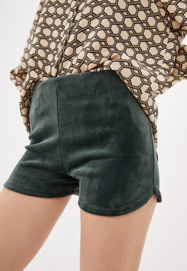 женские повседневные шорты lipinskaya-brand, зеленые