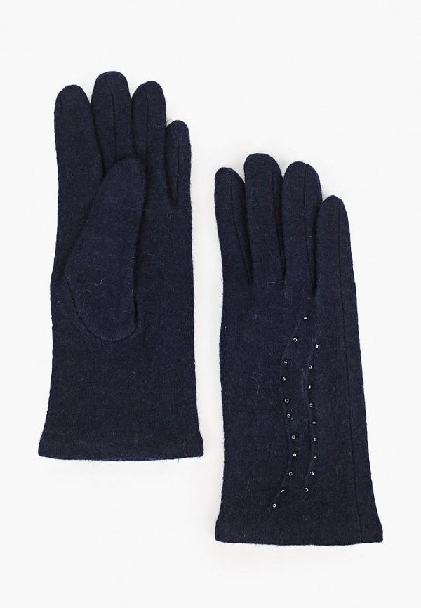 женские текстильные перчатки labbra, синие