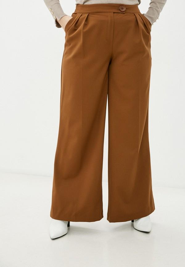 женские брюки клеш bezko, бежевые