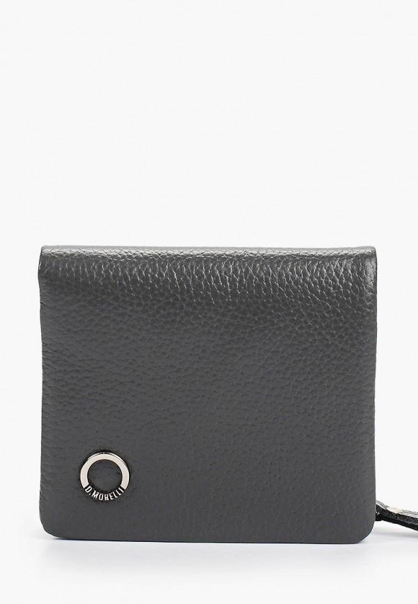 женский кошелёк d.morelli, серый