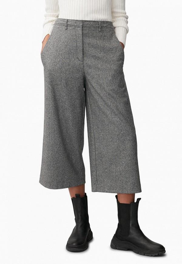 женские брюки marc o'polo, серые