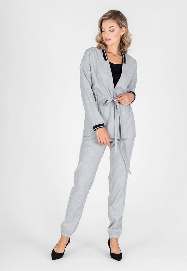 женский костюм eliseeva olesya, серый