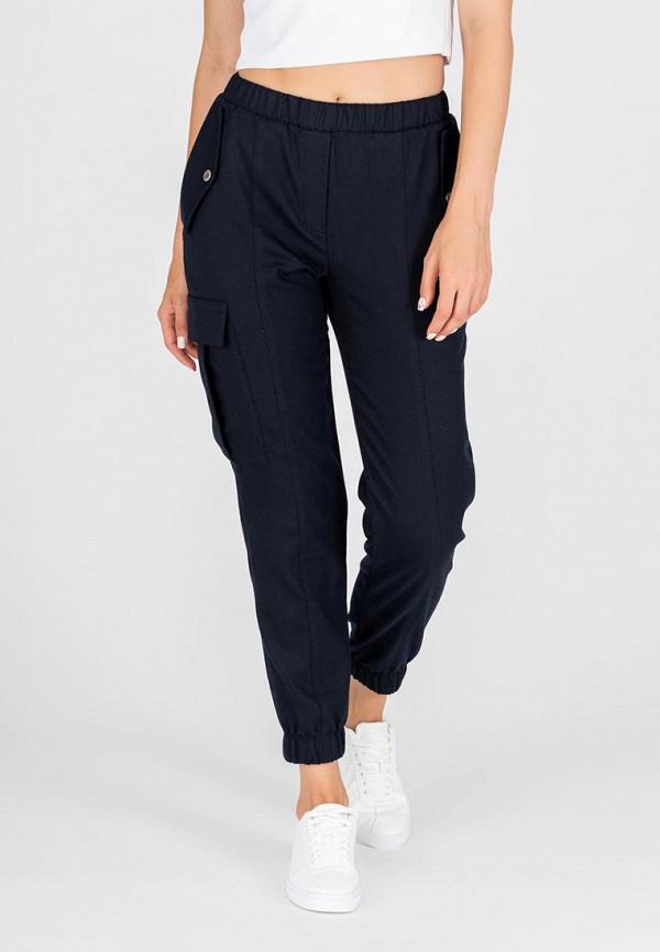 женские брюки карго eliseeva olesya, синие