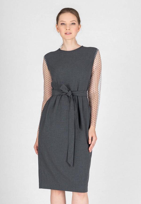 женское повседневные платье eliseeva olesya, серое