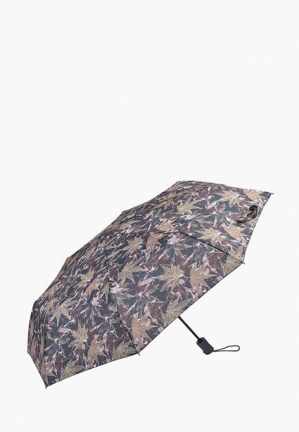 женский складные зонт fulton, коричневый