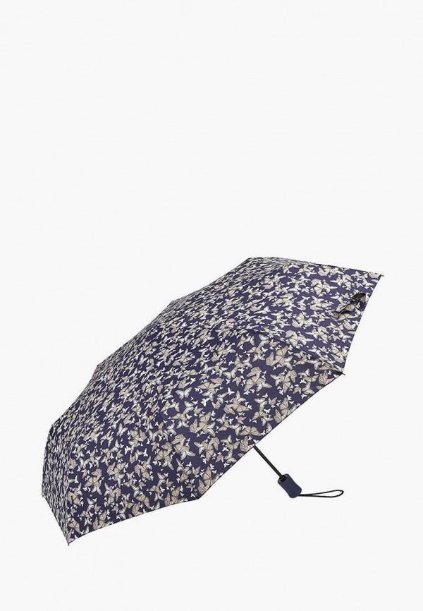 женский складные зонт fulton, фиолетовый
