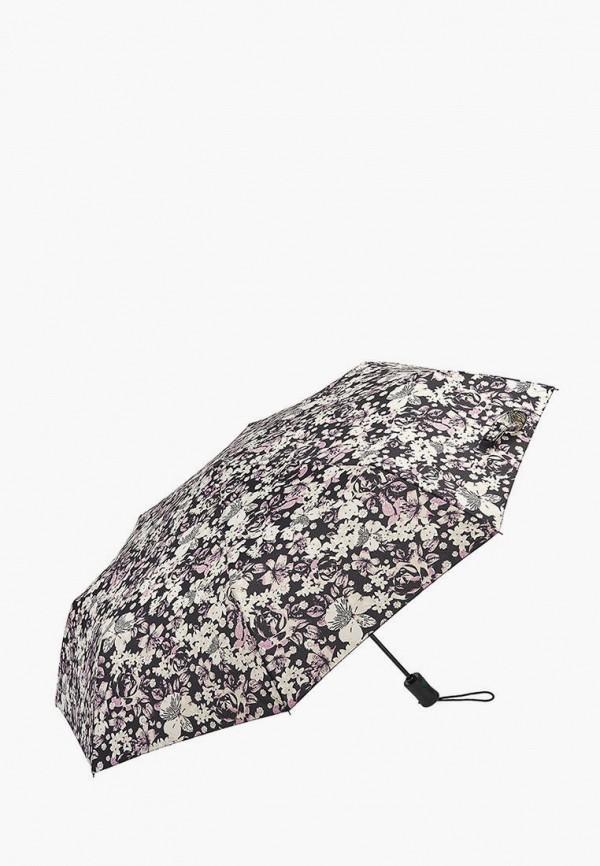 женский складные зонт fulton, серый