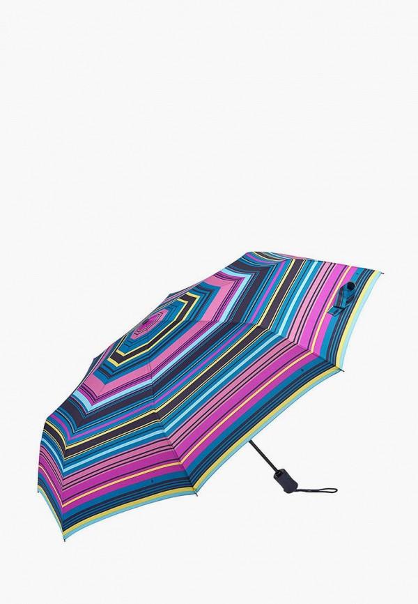 женский складные зонт fulton, разноцветный