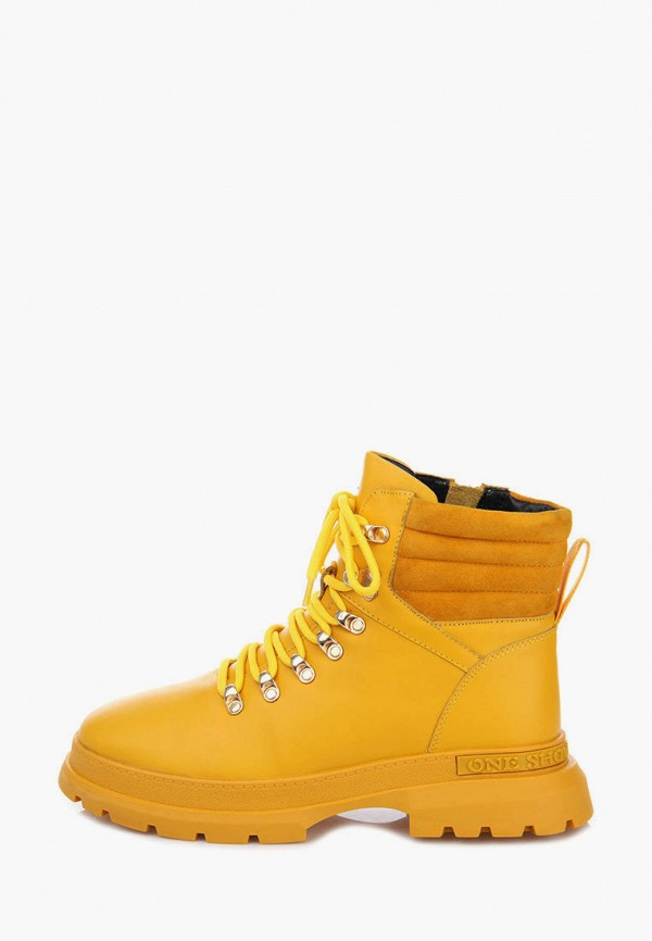женские ботинки ditto, желтые