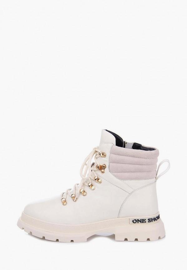 женские ботинки ditto, белые