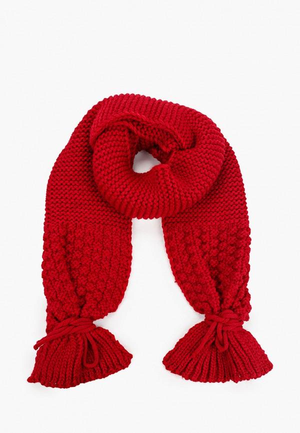 женский шарф ruxara, красный