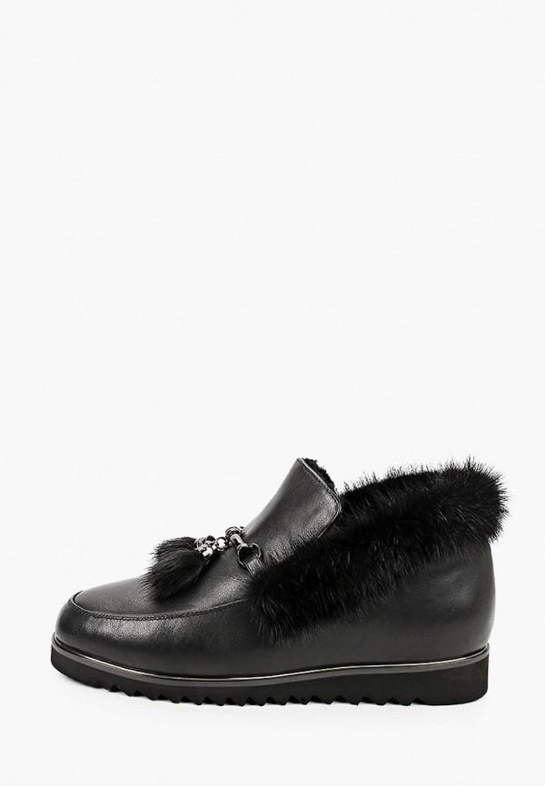 женские низкие ботинки valley, черные