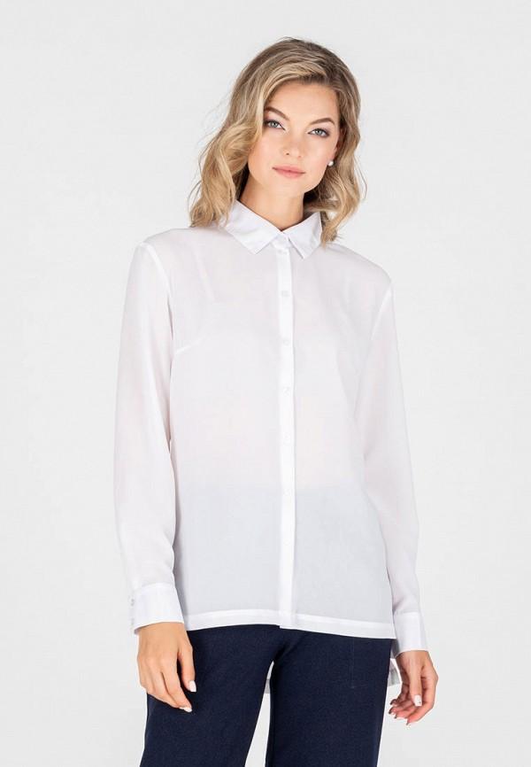 женская блузка с длинным рукавом eliseeva olesya, белая