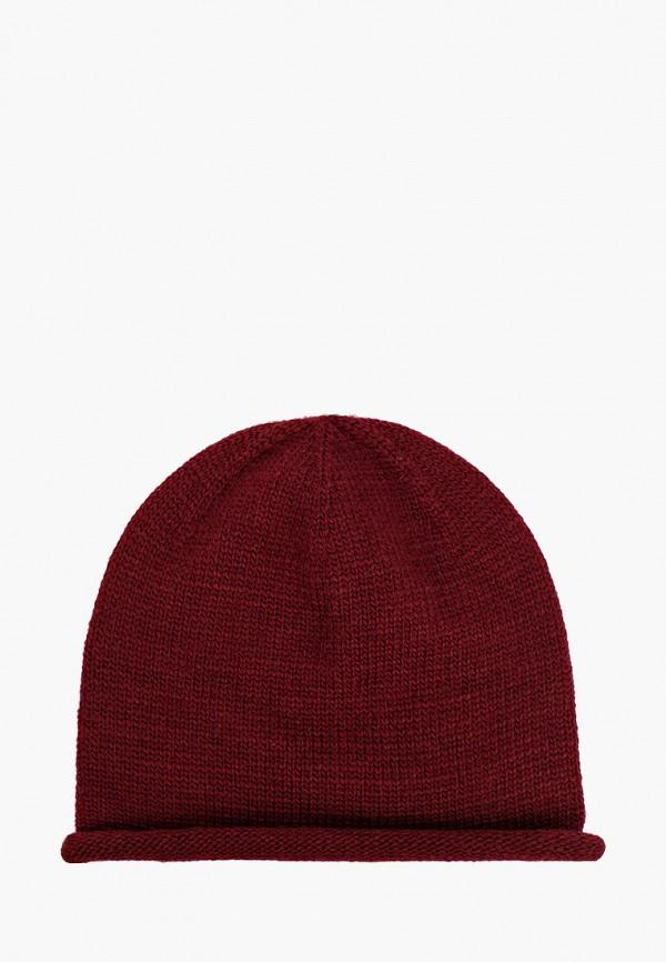 женская шапка mezzatorre, бордовая