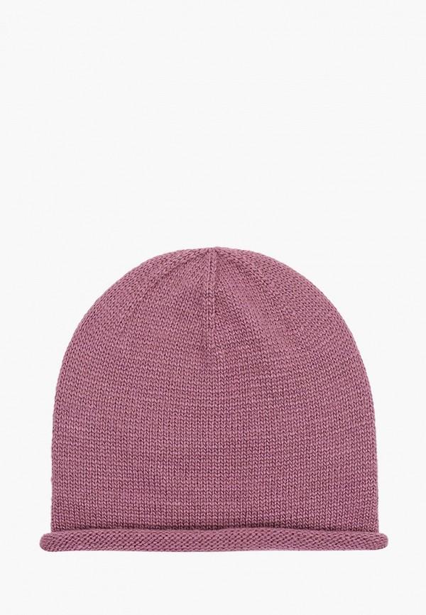 женская шапка mezzatorre, фиолетовая