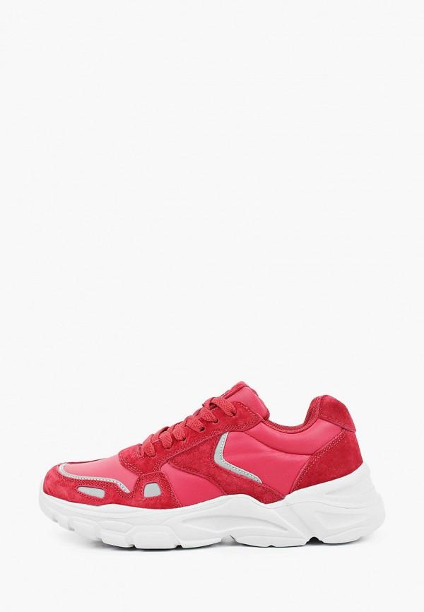 женские кроссовки sigma, красные
