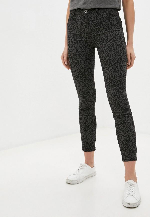 женские повседневные брюки calzedonia, серые