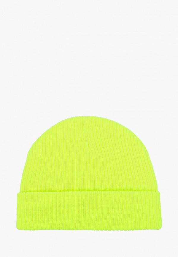 женская шапка defacto, желтая
