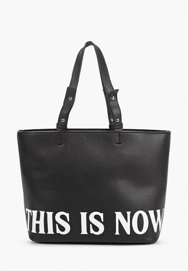 женская сумка с ручками defacto, черная