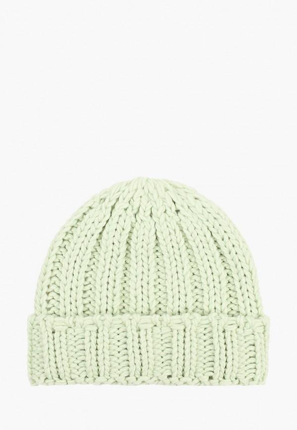 женская шапка sela, зеленая