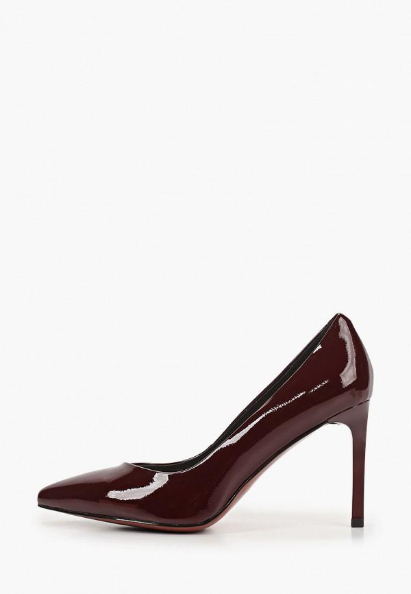 женские туфли-лодочки stivalli, бордовые