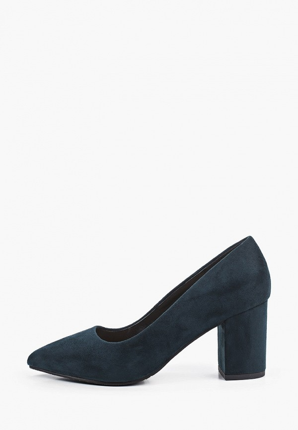 женские туфли с закрытым носом rio fiore, зеленые