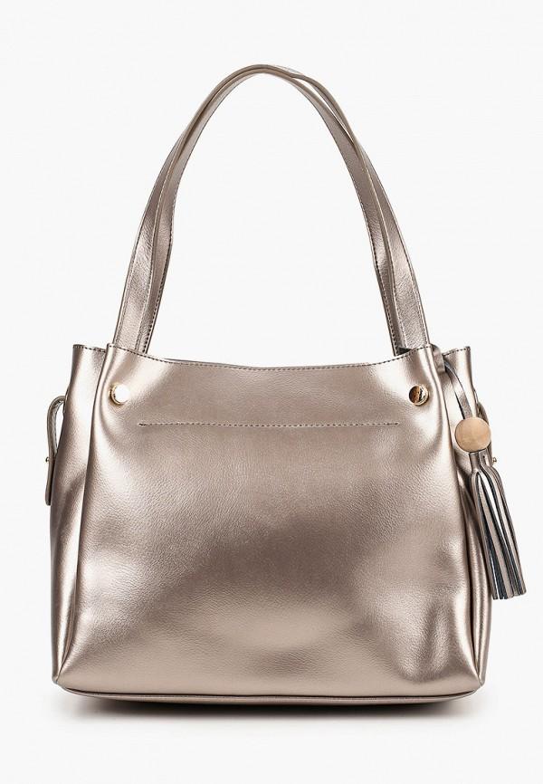 женская сумка с ручками mironpan, золотая