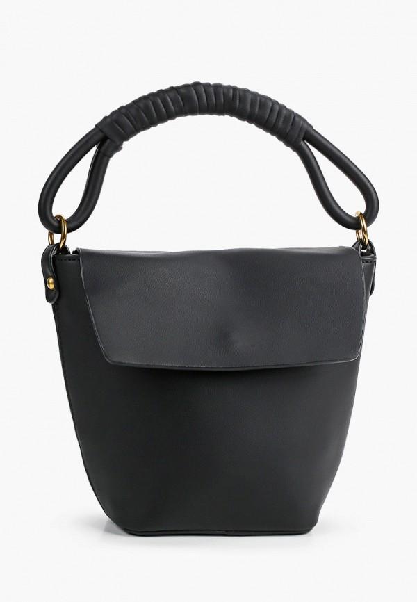 женская сумка с ручками ruxara, черная