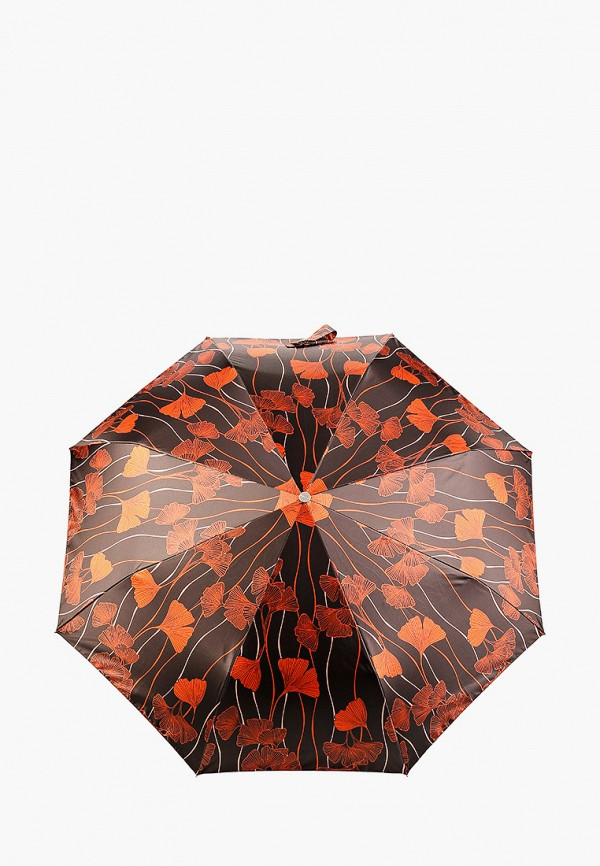 женский складные зонт doppler, коричневый