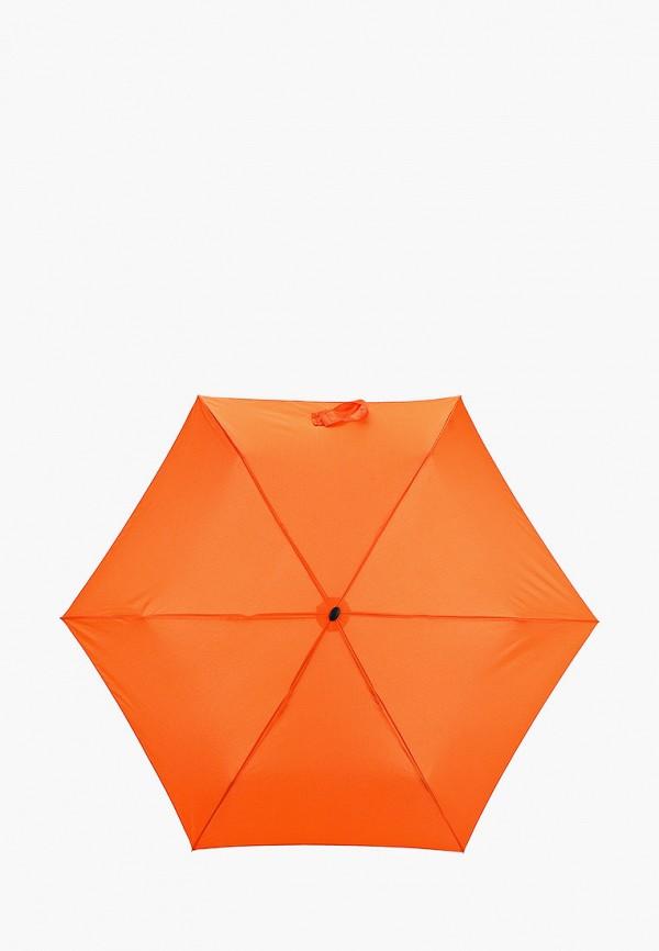 женский складные зонт doppler, оранжевый