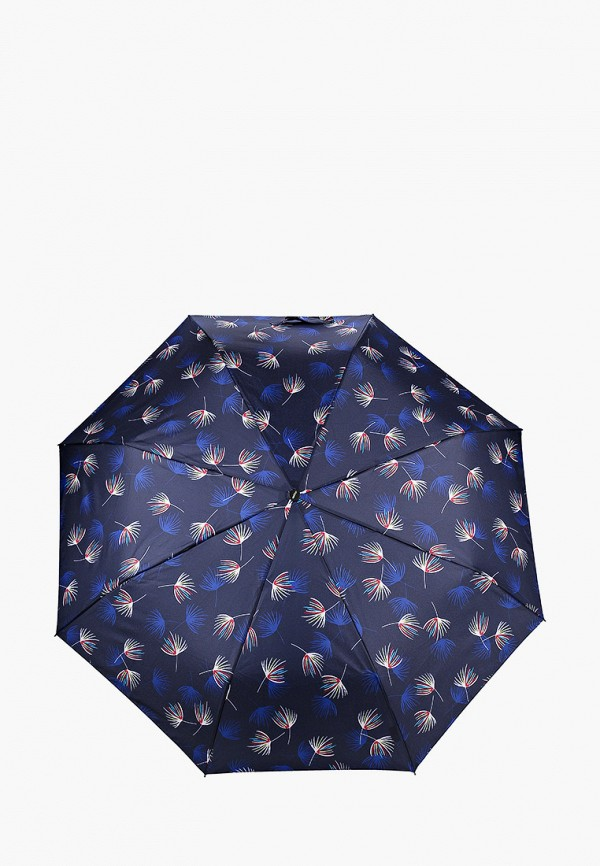 женский складные зонт doppler, синий