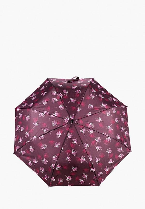 женский складные зонт doppler, фиолетовый