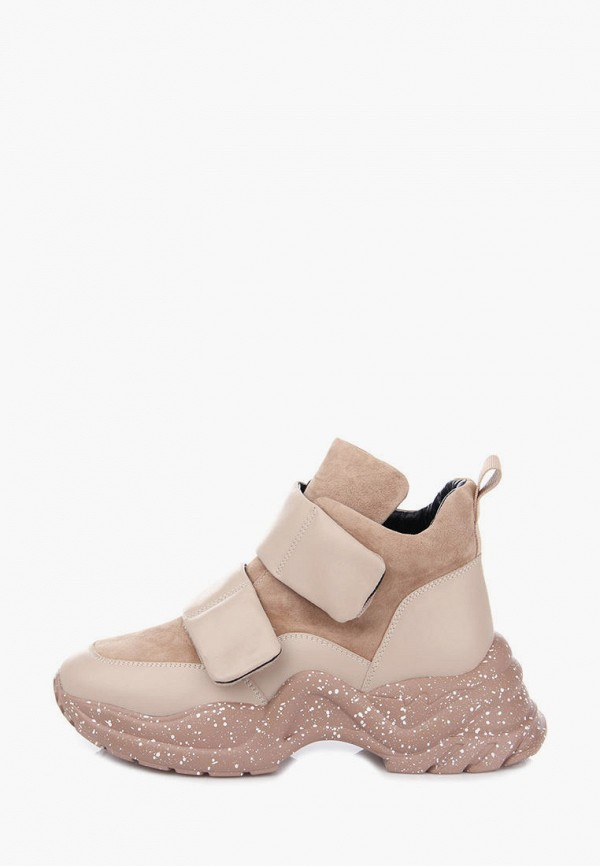 женские кроссовки ditto, бежевые