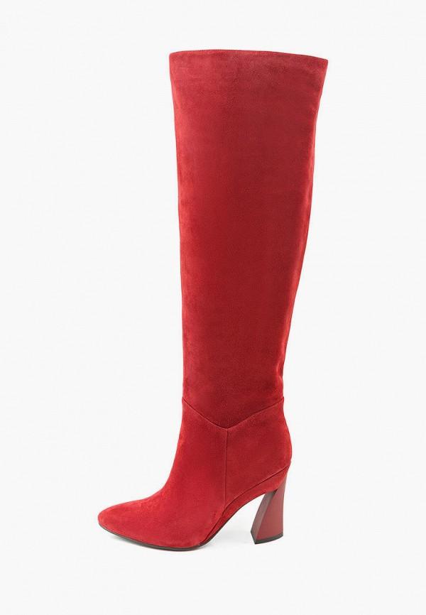 женские сапоги mascotte, красные