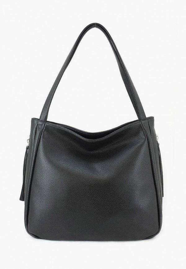 женская сумка через плечо solo, черная