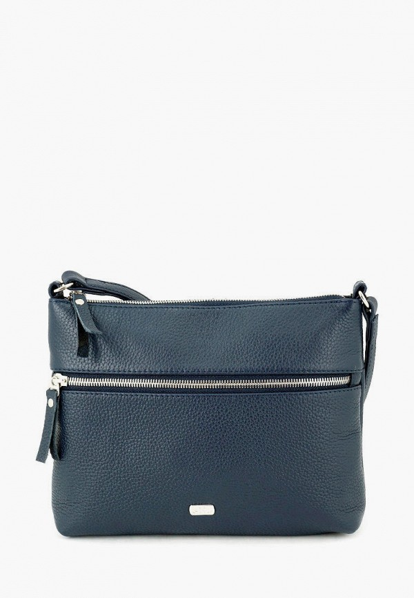 женская сумка через плечо solo, синяя