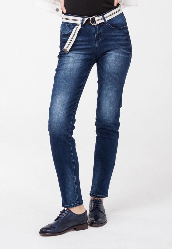 женские джинсы скинни krapiva, синие