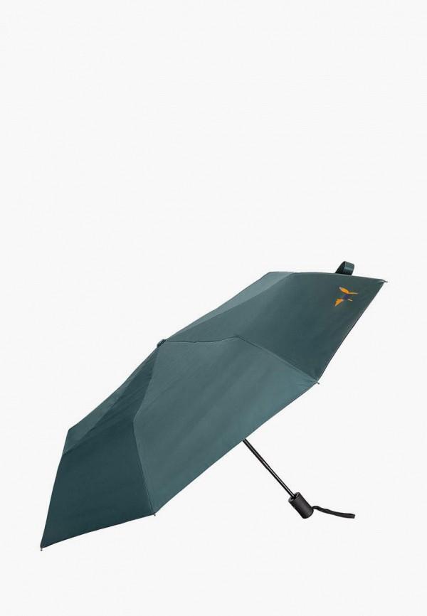 женский складные зонт mellizos, бирюзовый