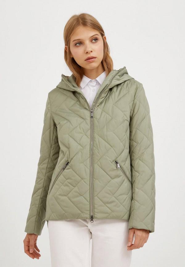 Куртка утепленная Finn Flare цвета хаки