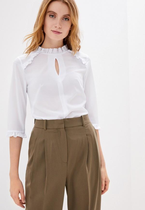 женская блузка lovely olgen, белая