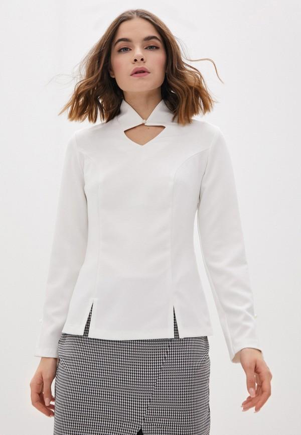 женская блузка с коротким рукавом lovely olgen, белая