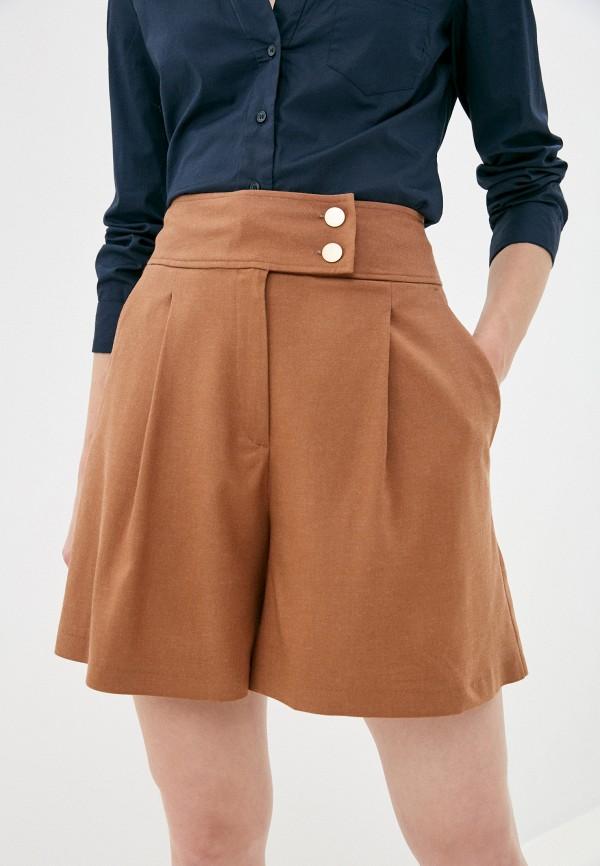 женские повседневные шорты vittoria vicci, коричневые