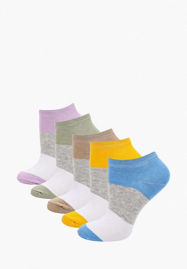 Носки 5 пар Alla Buone разноцветного цвета