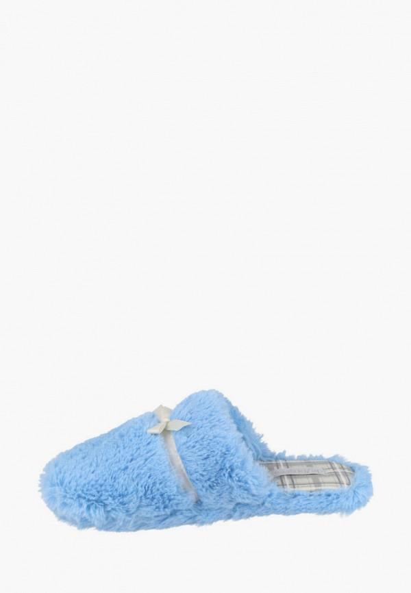 женские тапочки de fonseca, голубые