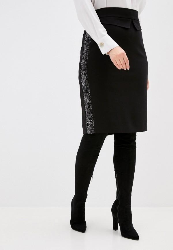 Юбка ASV Fashion Design ASV Fashion Design  черный фото